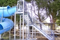 Eaglehawk heated pool slide stairs